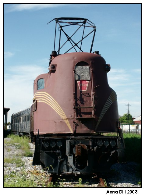 The Pennsylvania Railroad GG1