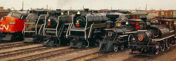 Streamlined Steam Locomotives