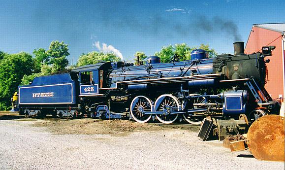 Colored Steam Locomotives