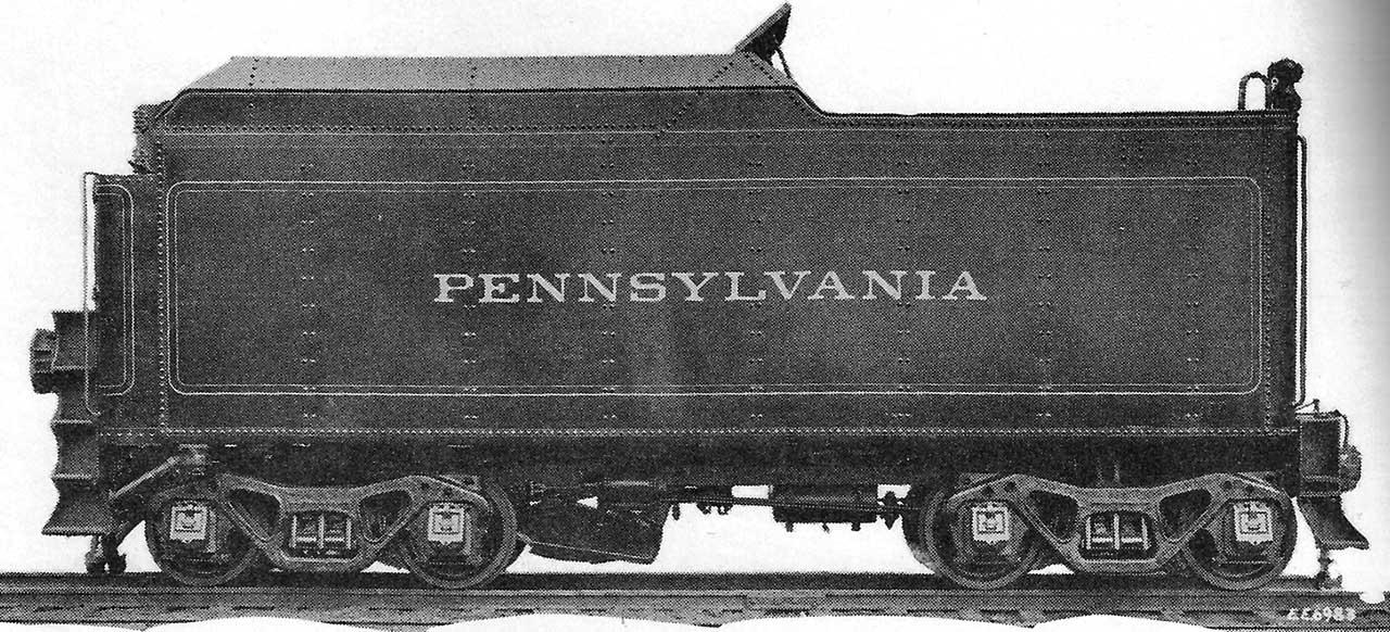 Steam Locomotive Tenders