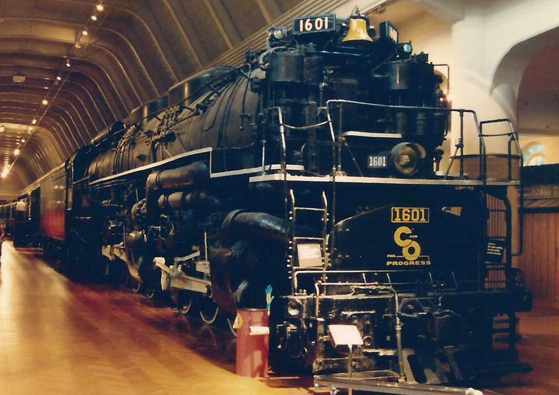 Chesapeake Ohio 2 6 6 6 Allegheny Locomotives In The Usa