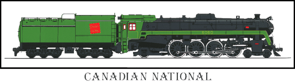 """4-8-2 """"Mountain"""" Locomotives in the USA"""