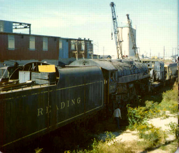 "Used Cars In Philadelphia >> Philadelphia & Reading 4-8-4 ""Northern"" Locomotives in the USA"