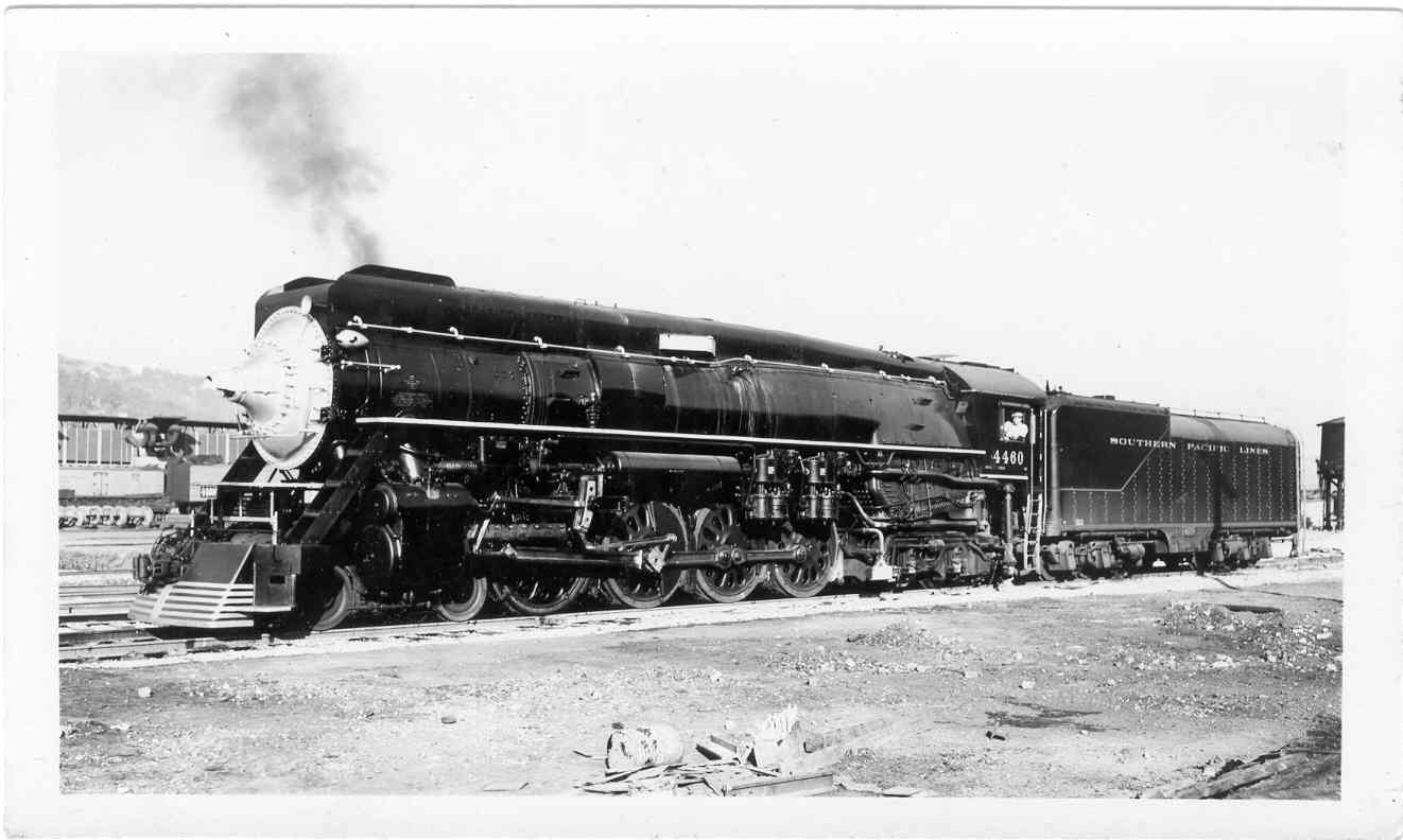 Southern Pacific 4 8 Northern Locomotives In The Usa Steam Engine Valve Diagram 4460