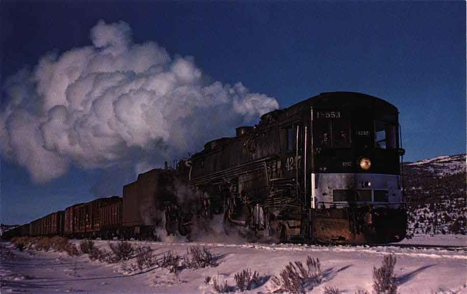 """Southern Pacific 4-8-8-2 """"Cab ..."""