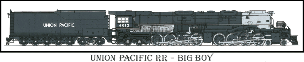 4 8 8 4 big boy locomotives in the usa